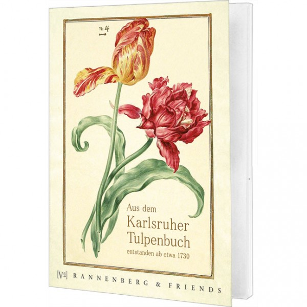 Postkartenbuch Aus dem Karlsruher Tulpenbuch