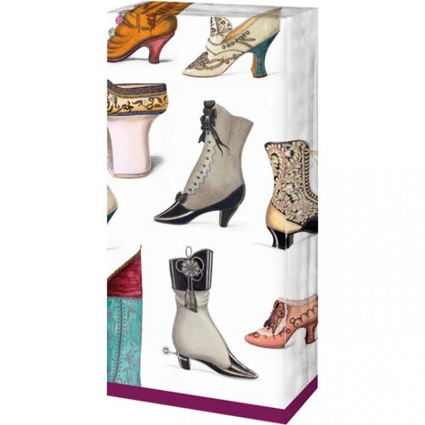 Taschentücher 'Historische Schuhe'