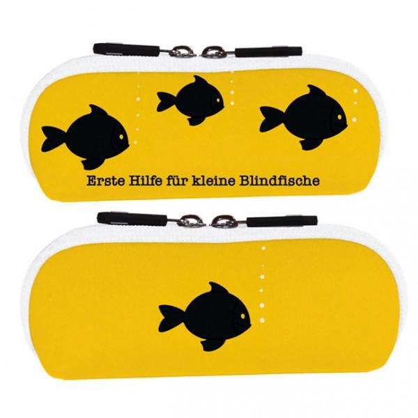 "Brillenetui ""Blindfische"""