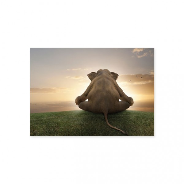 """Postkarte """"Meditation"""""""