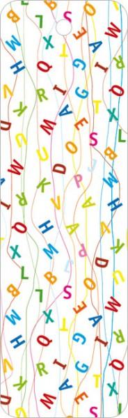 """Lesezeichen """"Buchstaben"""""""