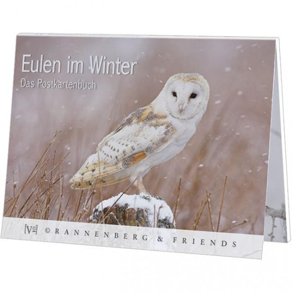 """Postkartenbuch """"Eulen im WInter"""""""