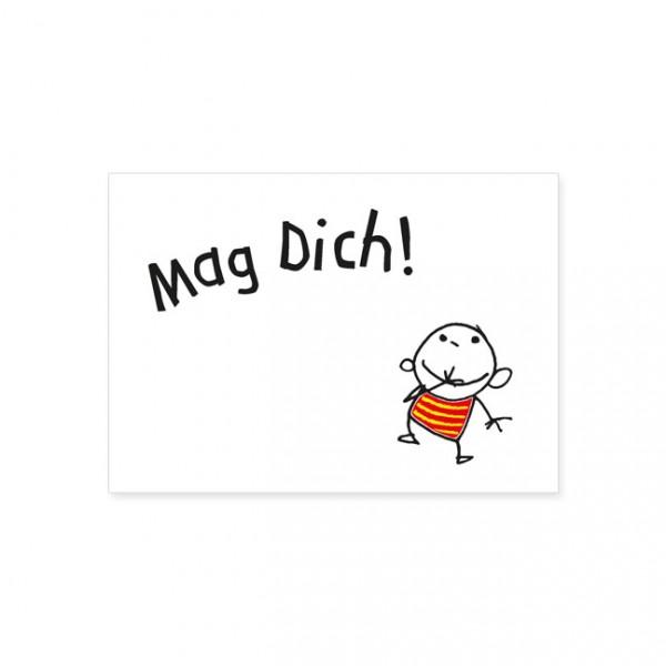 Postkarte Mag dich! | Postkarte | Humor | Karten