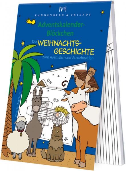 Adventskalenderblöckchen 'Weihnachtsgeschichte' von Charis Bartsch