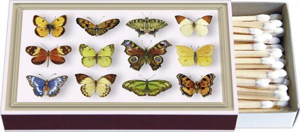Zündholz-Schachteln 'Schmetterlinge'