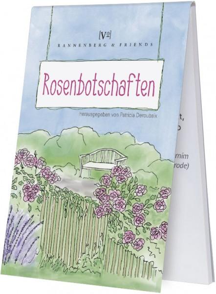 """Spieleblöckchen """"Rosenbotschaften"""""""