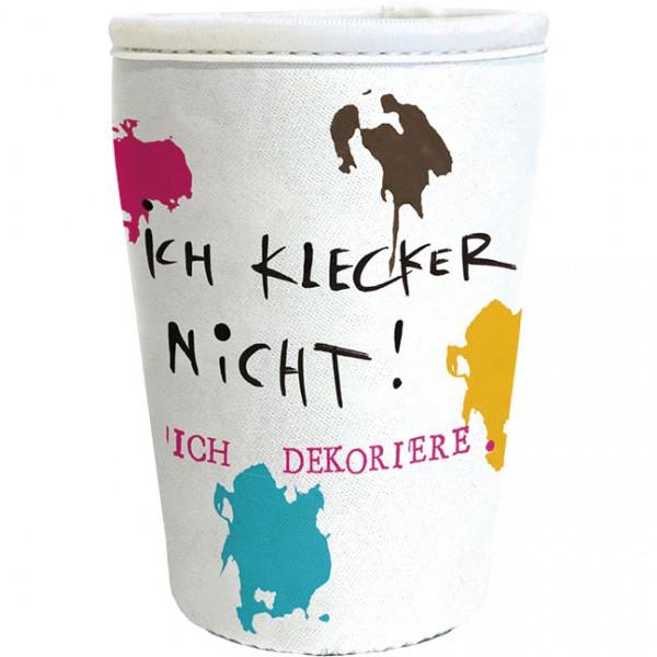 """Cup-Cover """"Ich klecker nicht"""""""