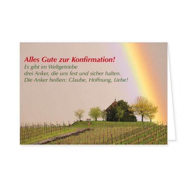 "Doppelkarte ""Alles Gute zur Konfirmation!"""