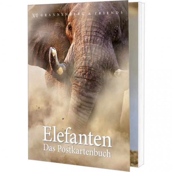 Postkartenbuch 'Elefanten'