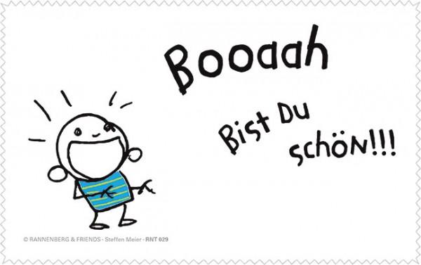 Netbooktuch 'Booaah bist du schön!'
