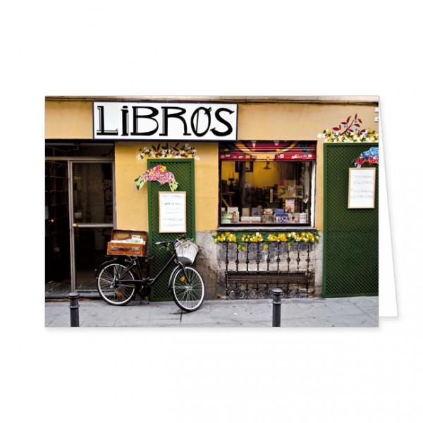 "Doppelkarten ""Libros"""