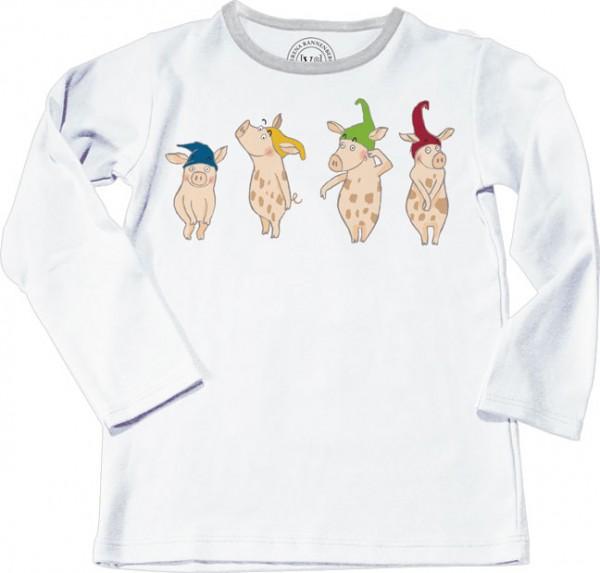 """T-Shirt Kinder 122 """"Heinzelschweinchen"""""""