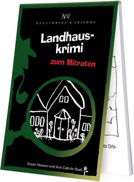 Spieleblöckchen 'Landhaus-Krimi'