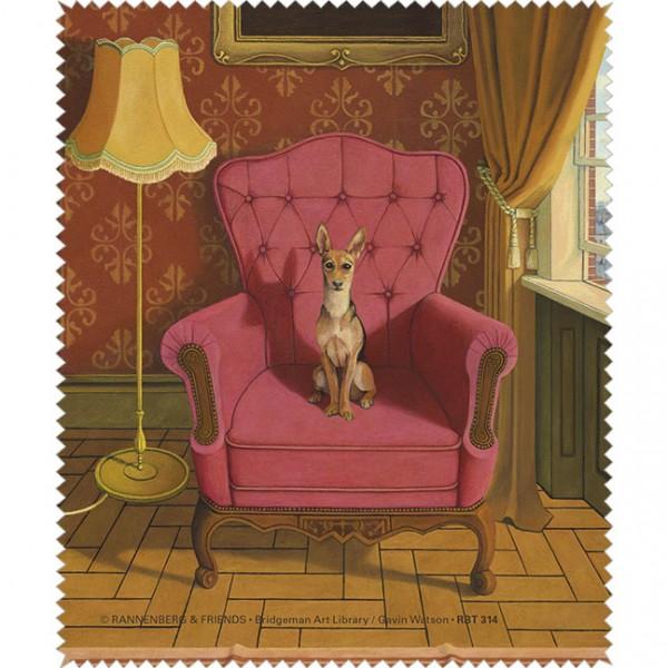 "Brillenputztuch ""Doggs-Bunte Hunde / The Joy of Rex"""