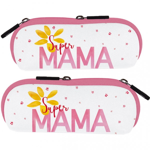 """Brillenetui """"Super Mama"""""""