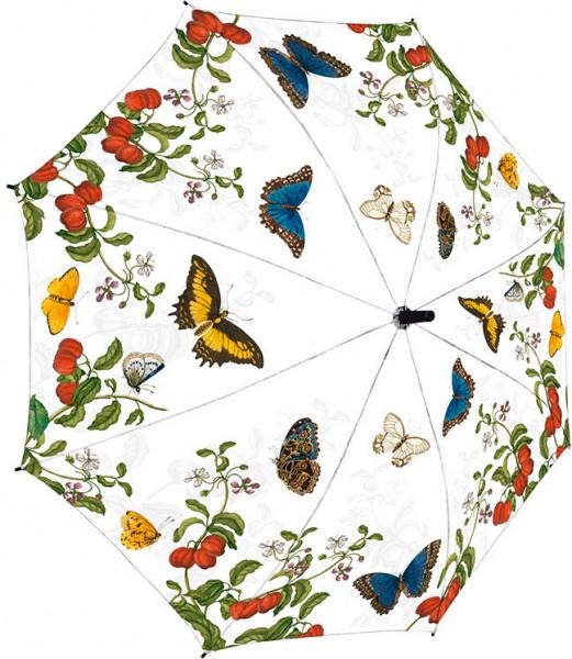 Regenschirm 'Maria Sibylla Merian - Schmetterlinge'