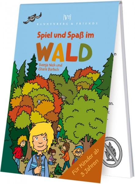 Spieleblöckchen 'Wald - Spiel und Spaß' von Svenja Nick / Charts Bartsch