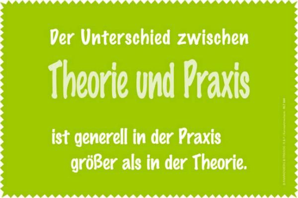 Laptoptuch 'Theorie und Praxis'