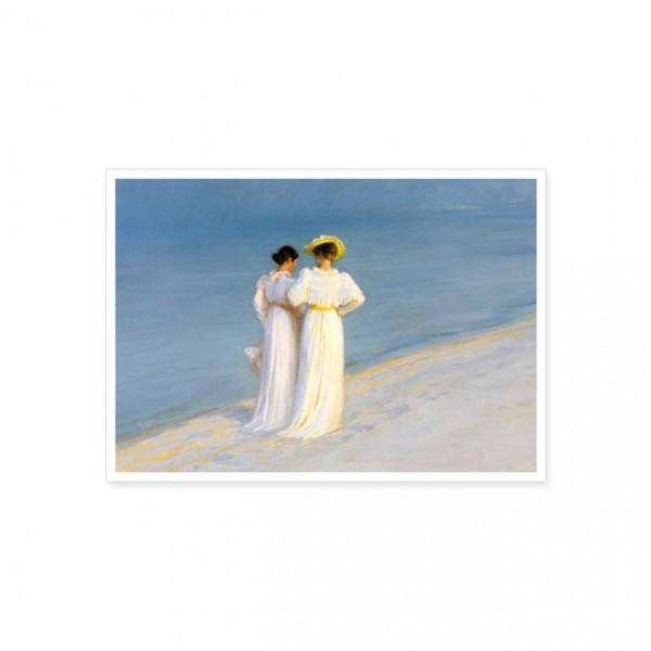 """Postkarte """"Sommerabend am Strand"""""""