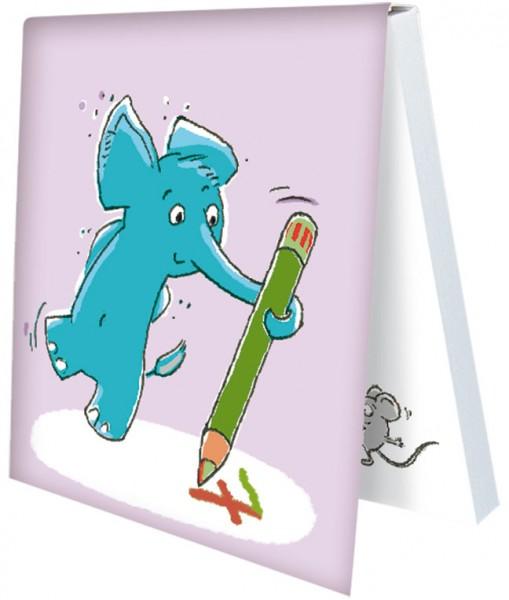 Klebezettel 'Tuppy's Klebezettel 6' von Judith Ganter