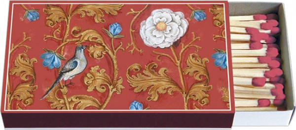 Zündholz-Schachteln 'Breviar der Isabella von Kastilien (rot)'