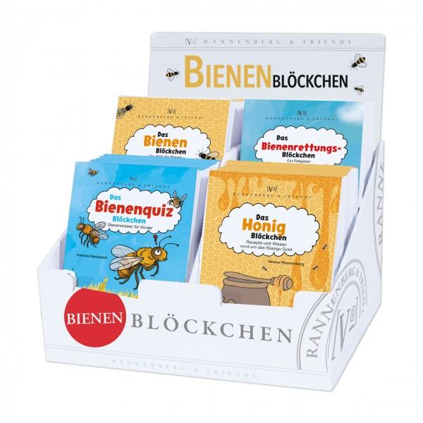 """Display """"Spielebl. Bienenblöckchen"""""""