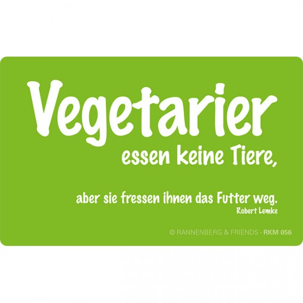 Magnete 'Vegetarier'