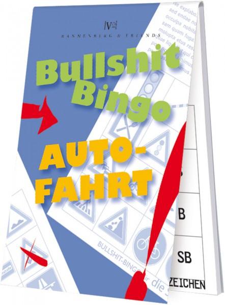 Spieleblöckchen 'Bullshit-Bingo Autoreise'