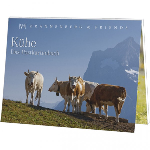 Postkartenbuch 'Alpenkühe'