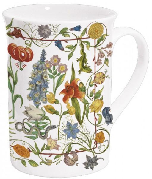 Becher 'Gartenblumen'