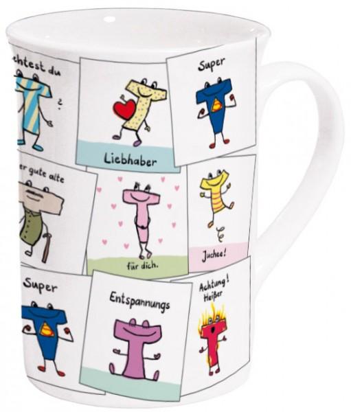 Becher 'Für Tee-Liebhaber' von Ann Cathrin Raab