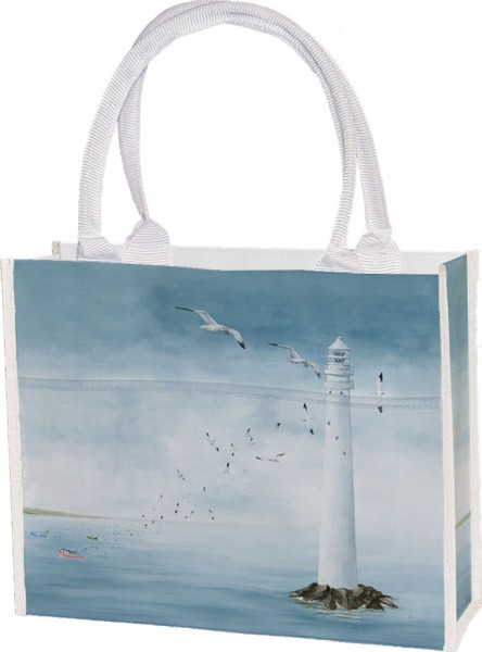 Einkaufstasche 'Leuchtturm'