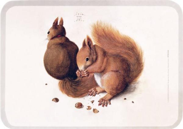 "Tablett small ""Eichhörnchen"""