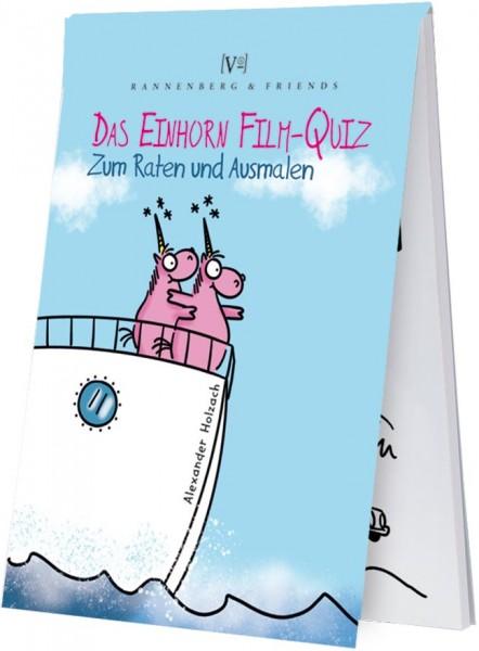 """Spieleblöckchen """"Einhorn Filmquiz"""""""