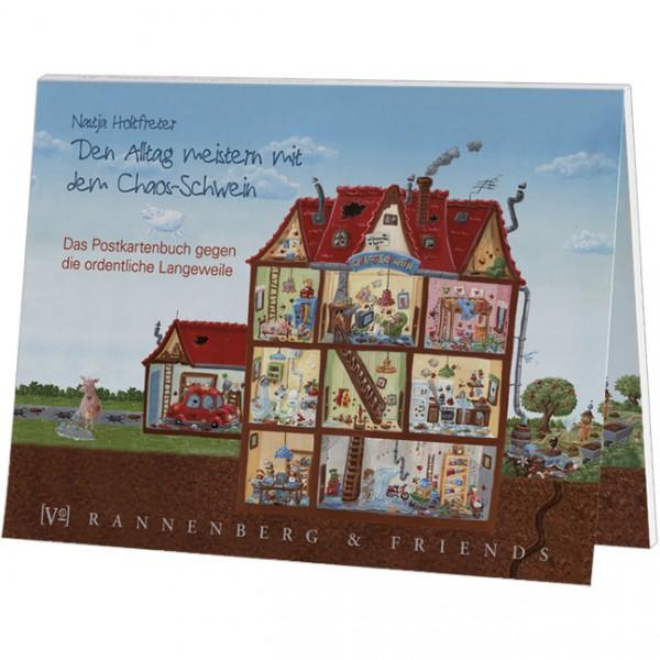 Postkartenbuch 'Chaos-Schwein'