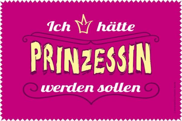 Laptoptuch 'Prinzessin wäre schön'