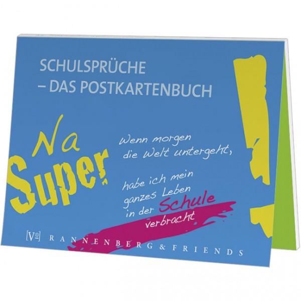 Postkartenbuch 'Schulsprüche'