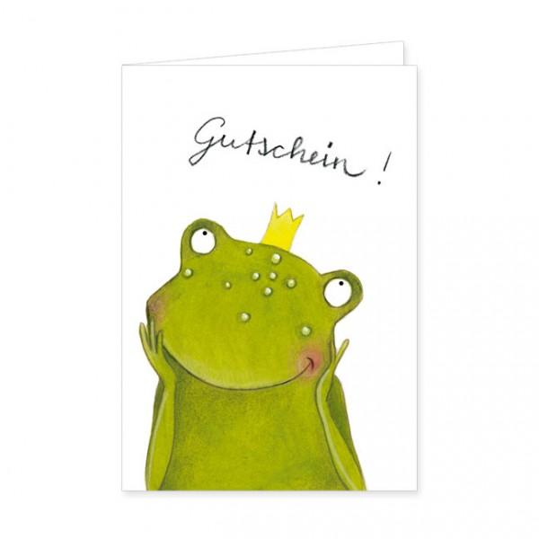 """Geschenk-Gutschein """"Frosch der Herzensbrecher"""""""