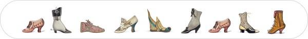 Nagelfeilen 'Historische Schuhe'