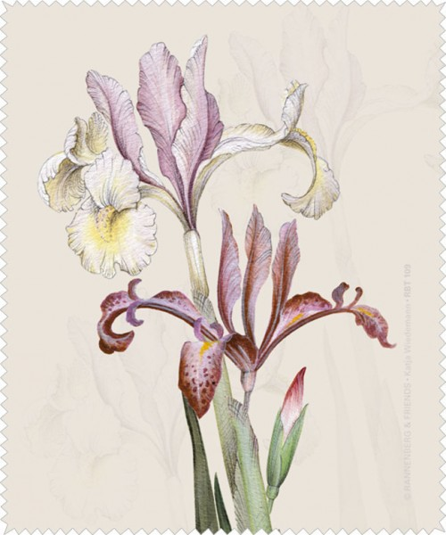 Brillenputztuch 'Iris'