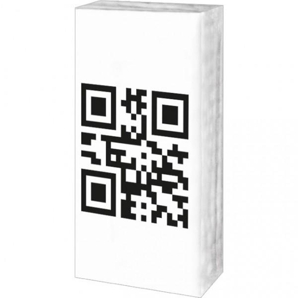 Taschentücher 'QR-Code 'Gesundheit''