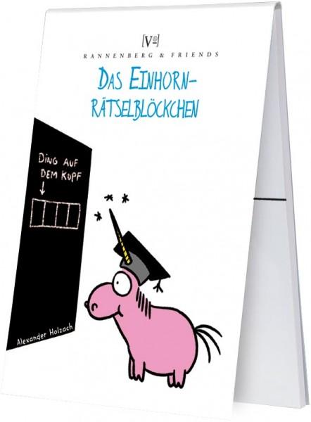 "Spieleblöckchen ""Einhorn Rätselblöckchen"""