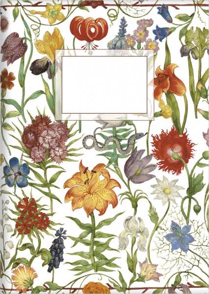 "kl. Kladden A6 ""Gartenblumen"""
