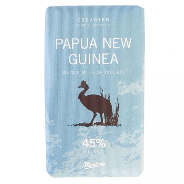 Ursprungs-Vollmilchschokolade Papua Neu Guinea 40g Kakao: 45%