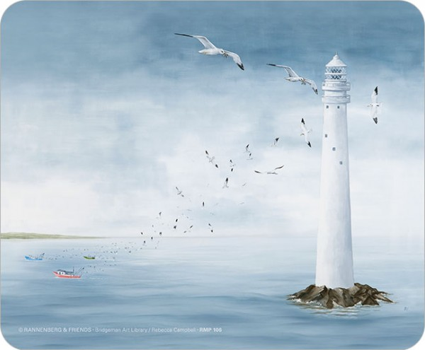 Maus-Pad 'Leuchtturm'