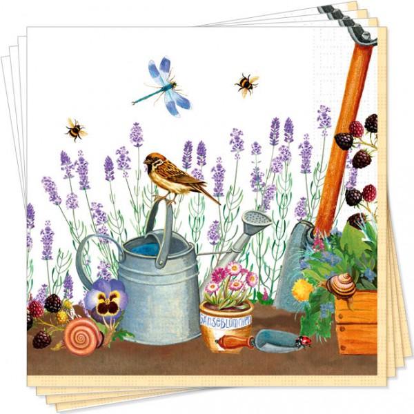 Servietten 'Gartenwelt'