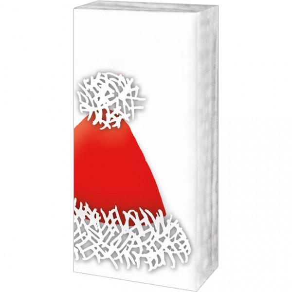 Taschentücher Weihnachten 'Rote Weihnachtsmütze'