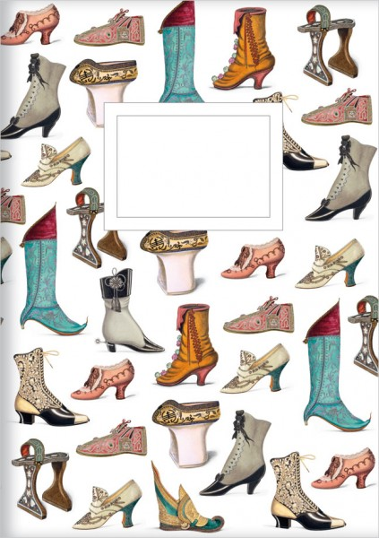 Kladden A6 'Historische Schuhe'