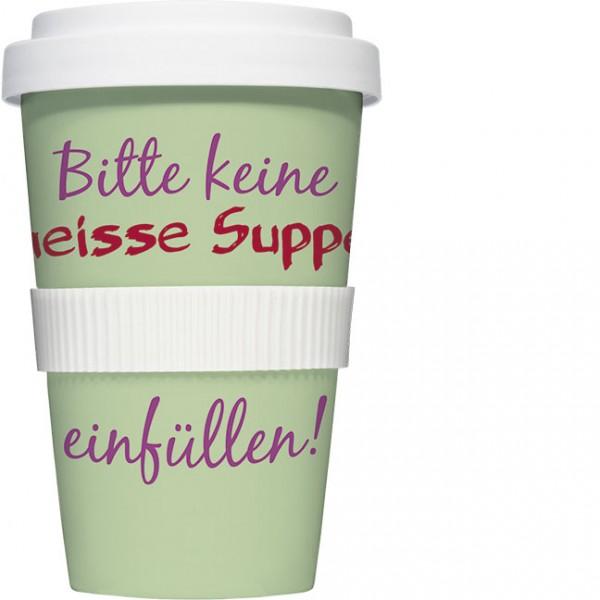 Coffee to go Becher 'Heiße Suppe'