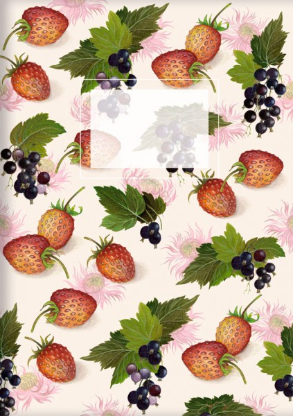 Kladden A5 'Erdbeeren und Johannisbeeren'